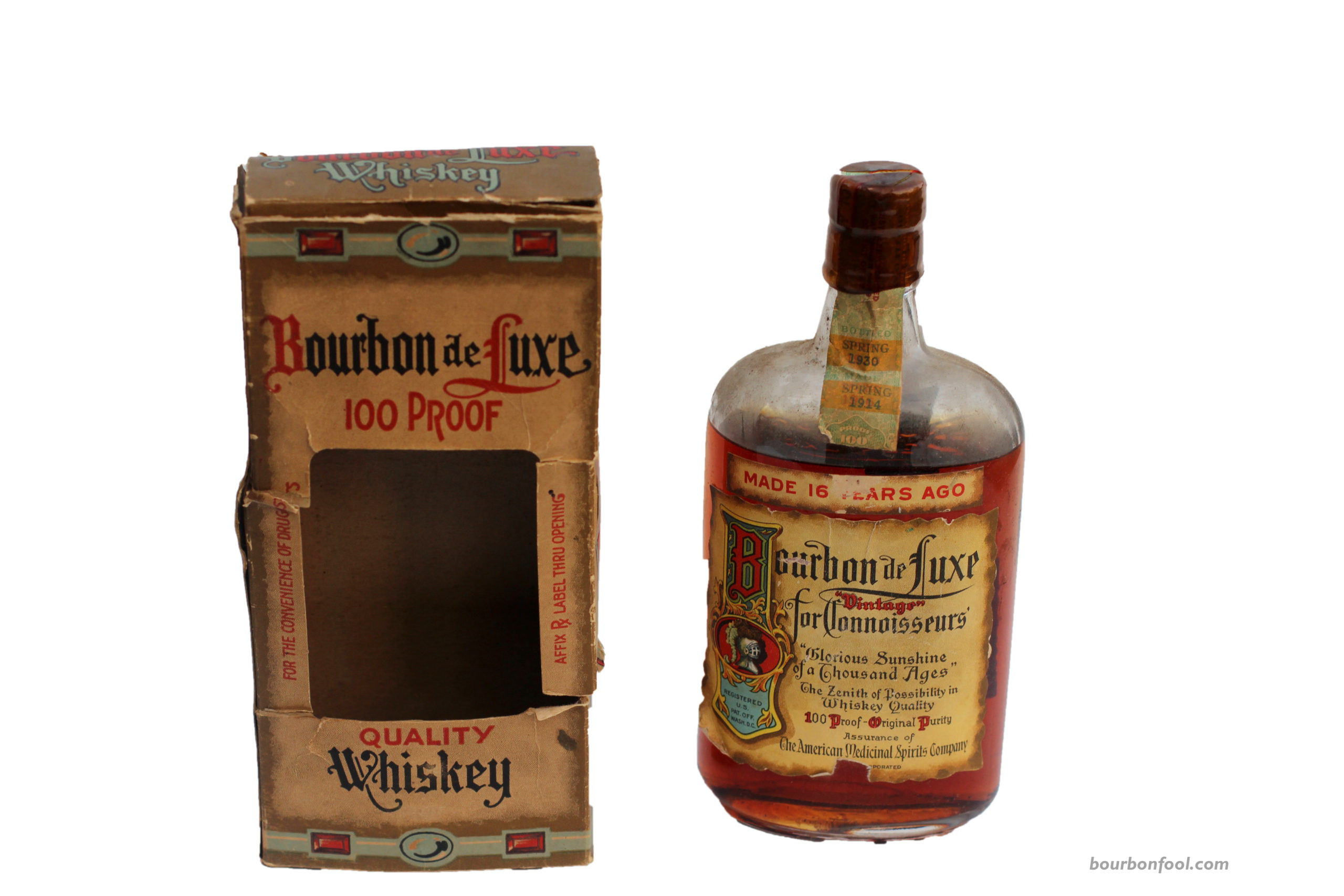 A Bourbon Discovery.  A Brief History of Bourbon and Prohibition