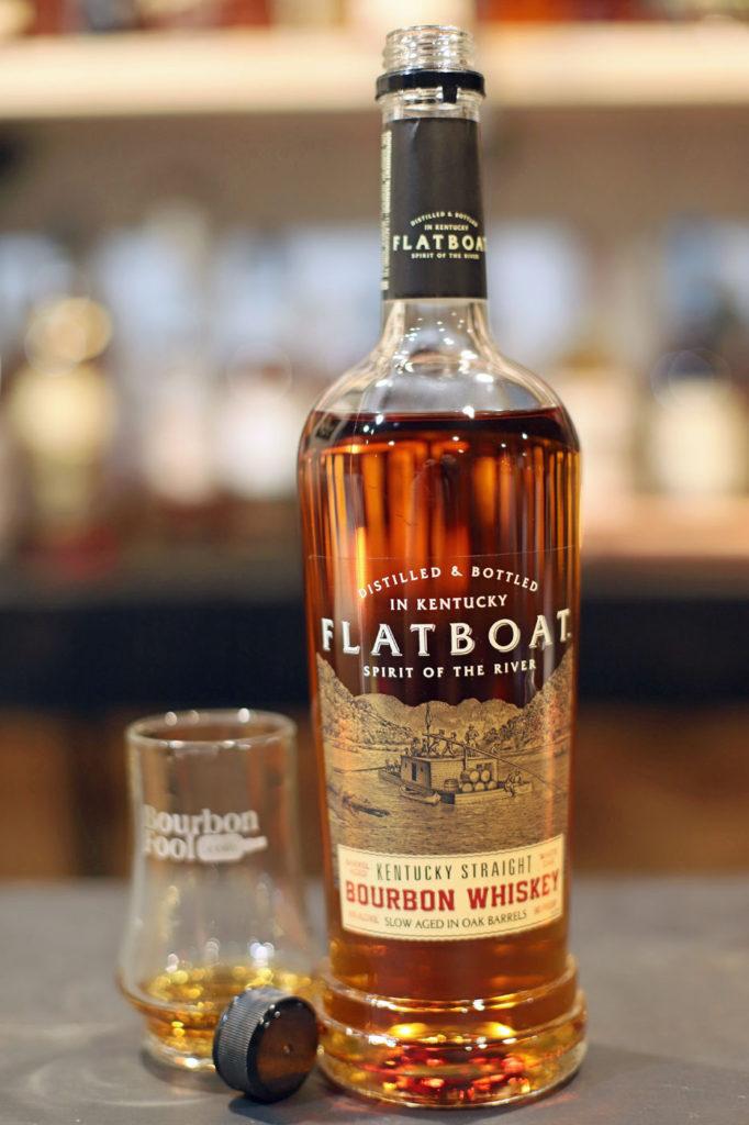 Flatboat Bourbon. An affordable private label bourbon