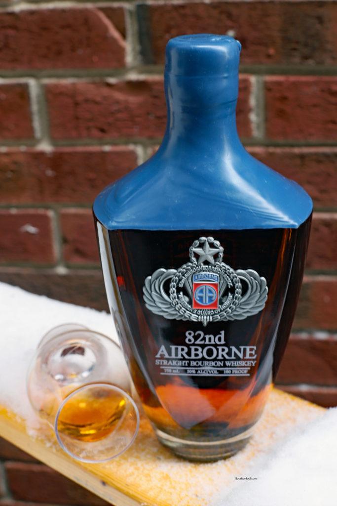 Bottle of 82nd Airborne Bourbon