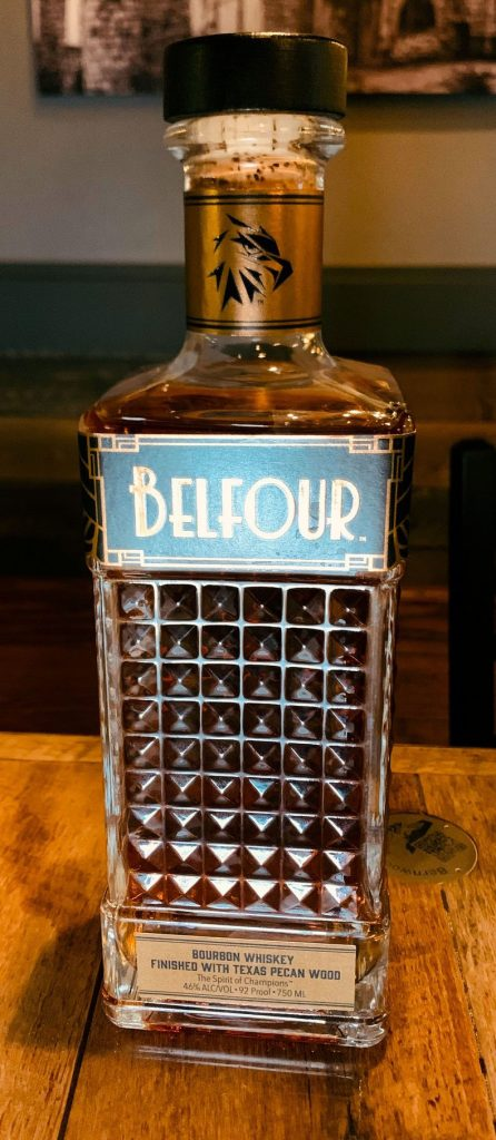 Belfour Bourbon Finished with Texas Pecan Wood