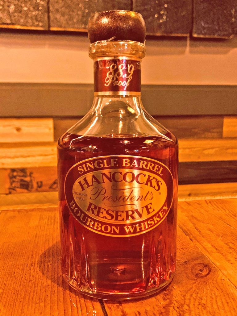 Bottle of Hancocks Reserve