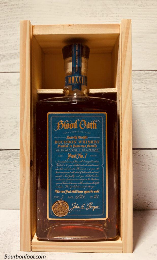 bottle of Blood Oath Pact 7