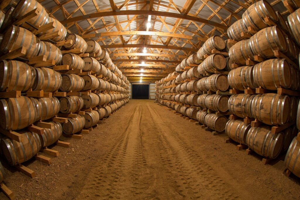 Garrison Brothers Bourbon Warehouse if you distill it they will come