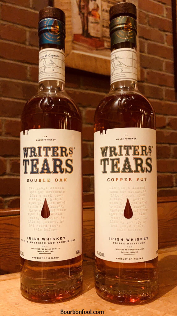 Writers Tears Irish Whiskey. An Irish Whiskey Story